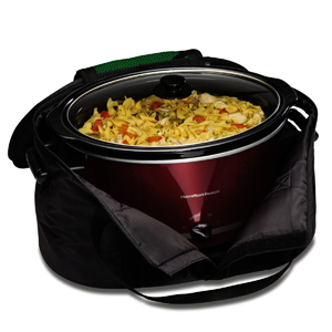 Hamilton Beach Crock Caddy Insulated Bag 4 - 8 Quart